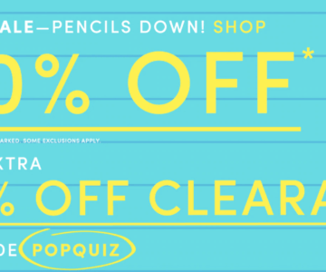 TODAY ONLY – Extra 50% off J.Crew Coupon