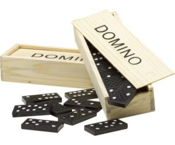 Wooden Domino Set for under $5 with Free Shipping