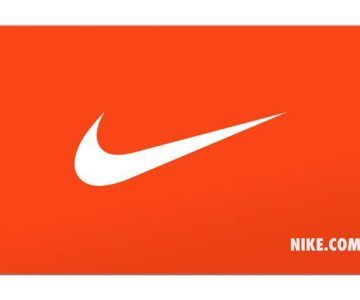 Free $10 Nike gift card w/ purchase of $50 Gift Card