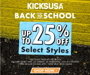 25% off Sneakers PLUS an Additional $5 Off Your Order