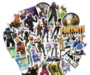 40-Pack of Fortnite Stickers for $1.39 Shipped