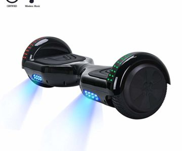 Self Balancing Hoverboard with Bluetooth Speakers for Under $100 Shipped