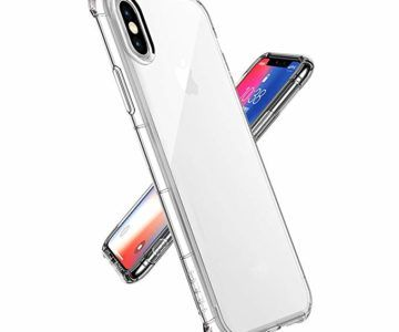 iPhone X Crystal Clear Shock Case for only $2