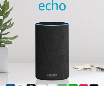 Amazon Echo 2nd Generation Smart Speaker on sale for $54 (originally $100)