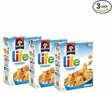3-Pack Quaker Life Original Cereal on sale for $4.63
