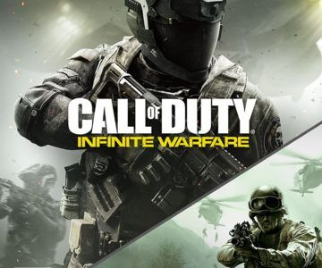 Call of Duty: Infinite Warfare Xbox One Legacy Edition with Modern Warfare Remastered for $18
