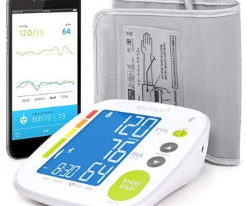 Bluetooth Blood Pressure Smart Monitor for $24 (works with Apple Health)
