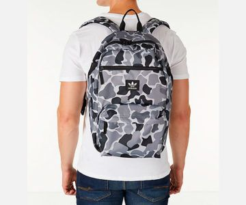 40% off Adidas National Plus Camo Backpack – On sale for $29.99