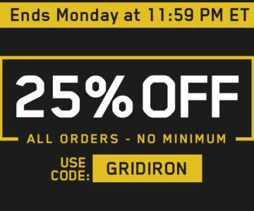 25% off All Orders – No Minimum