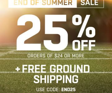 25% off Jerseys & Hats + Free Shipping – End Of Summer Sale