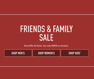 Extra 50% off Reebok – Friends & Family Sale