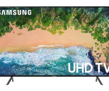 Samsung 50″ 4K Ultra HD HDR Smart TV for $435
