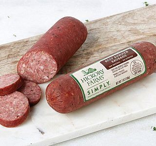 12 Pack of Hickory Farms Simply Natural Summer Sausages $29.88 Shipped