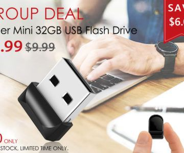 ALMOST GONE – Super Mini 32GB Flash Drive on sale for just $3.99