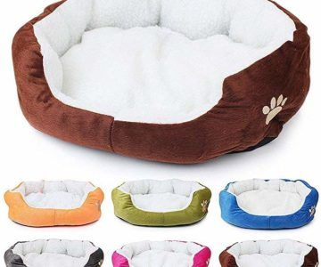 Get a plush small pet bed for under $5 shipped