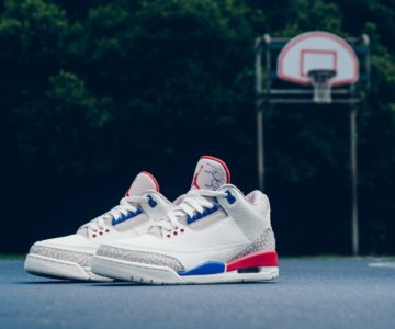 $40 off the Jordan Retro 3 USA in Mens and GS sizes