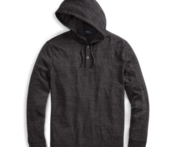 Polo Ralph Lauren Cotton-Blend Jersey Hoodie on sale for just $24 (retail $125)