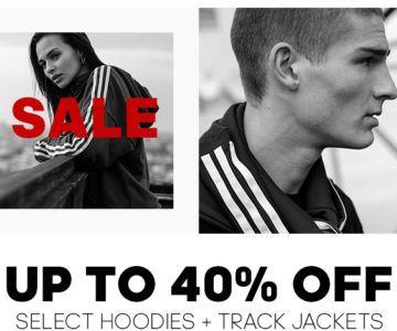 40% off Adidas Fleece for Fall