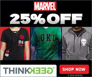 Save 25% off Marvel Merch and Clothing