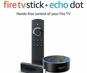Buy an Amazon Fire Stick get a FREE Echo Dot