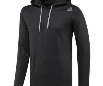 Reebok Men's Fleece Pullover Hoodie on sale for just $15