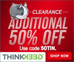 Think Geek – EXTRA 50% OFF Coupon