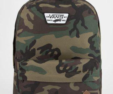 50% off VANS Old Skool II Classic Camo Backpack