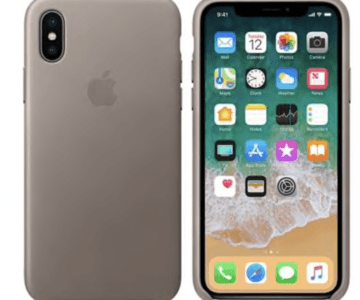 Apple Brand Leather iPhone X/s Case on sale for $5 (retail $50)
