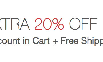Extra 20% off Adidas + FREE SHIPPING