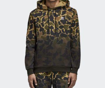 55% off Adidas Camo Hoodie + Free Shipping