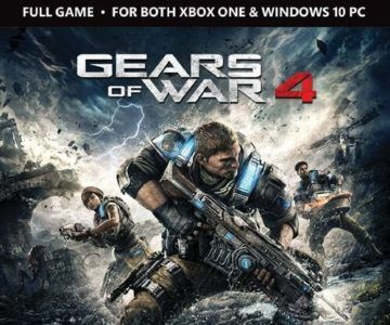 Gears of War 4 for Xbox One & PC on sale for $3.99