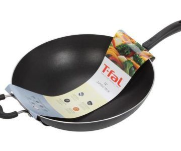 T-Fal 14-Inch Nonstick Jumbo Wok on sale for just $16 (retail $45)