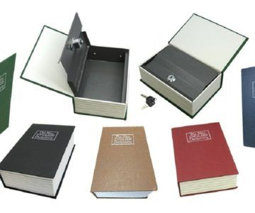 Dictionary Book Safes with Key Lock – $11.99