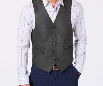 Ralph Lauren Men's Classic-Fit Moleskin Vest on sale for $31.99 (retail $125)