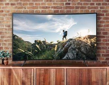 Samsung Curved 55″ 4K HDR UHD Smart TV for $419 (originally $999)