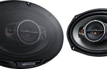 Kenwood 6×9 5-Way Car Speakers with Polypropylene Cones (Pair) only $35 (retail $85)
