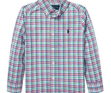 Polo Ralph Lauren Boys Button Up Poplin Shirts on sale for $14