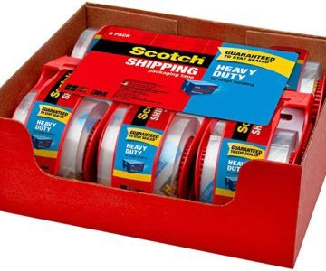 6 Pack of Scotch Heavy Duty Shipping Tape on sale for $12 Shipped (normally $23)