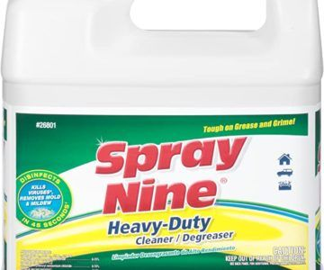 One gallon of Heavy Duty Disinfectant Spray on sale for $15.45