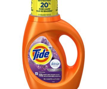 37oz Tide With Febreeze Laundry Detergent for $2.99 (normally $6.99)