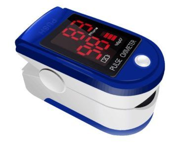 Blood Oxygen Saturation Monitor (Pulse Ox) Shipping now for just $24