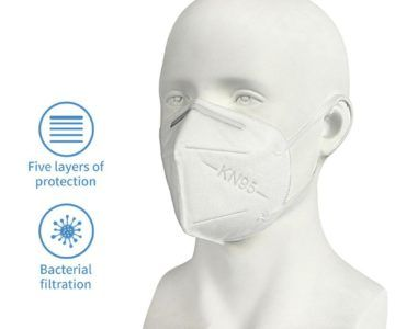 KN-95 Face Masks for as little as $3.25 each with Free Shipping
