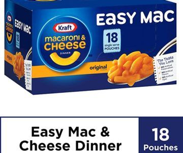 18 Pack of Kraft Mac & Cheese for under $6