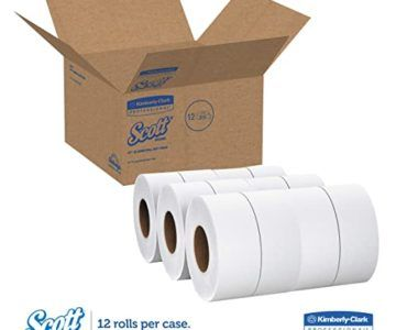 12 BULK Rolls of Scott Toilet Paper (60 normal rolls) for $44 w/Free Fast Shipping