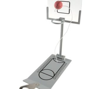 75% off Mini Basketball Arcade Game – On sale for $12