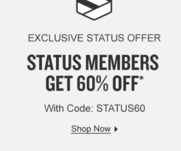 EXTRA 60% off at Finish Line